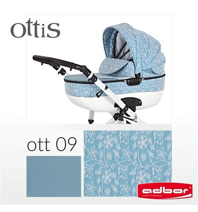 Дитяча коляска 3 в 1 Adbor Ottis 09