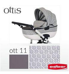 Дитяча коляска 3 в 1 Adbor Ottis 11