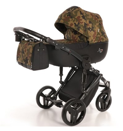 Дитяча коляска 2 в 1 Tako Junama Fashion Pro Army