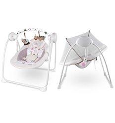 Гойдалка для малюків Lionelo Ruben рожева