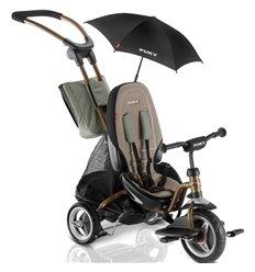 Велосипед триколісний Puky CAT S6 Ceety бронзовий з парасолькою
