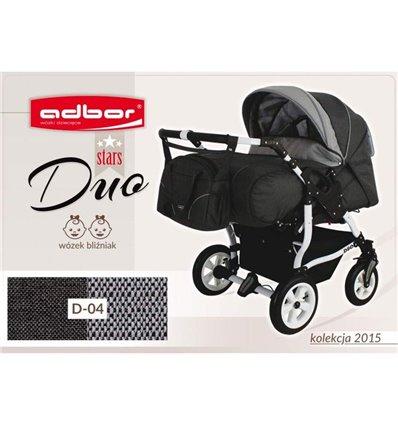 Дитяча коляска для двійні Adbor Duo Stars 04