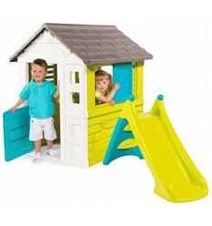 Дитячий будиночок Smoby Pretty та гірка XS 310068