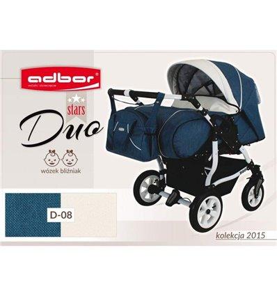 Дитяча коляска для двійні Adbor Duo Stars 08