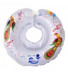 Дитячий круг для купання Tega Дельфін Білий музичний