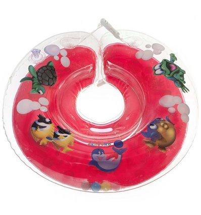 Дитячий круг для купання Tega Дельфін Червоний