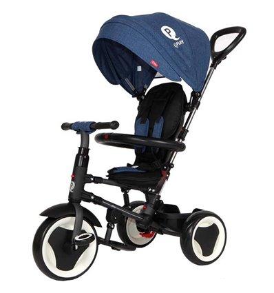 Велосипед триколісний Sun Baby QPlay Rito Синій