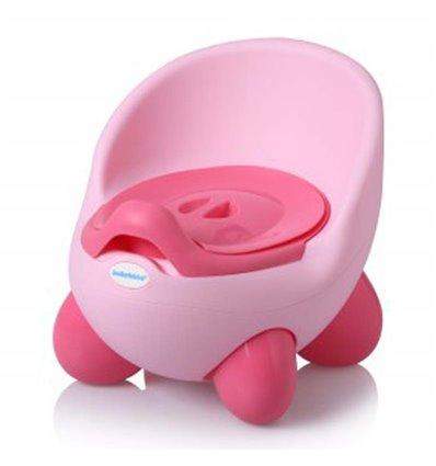 Дитячий горщик Babyhood BH-105LP Ніжно-розовий