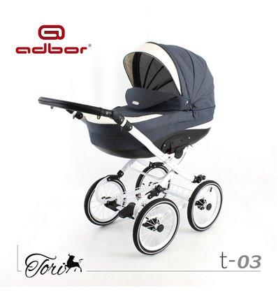 Дитяча коляска 2 в 1 Adbor Tori Classic 03