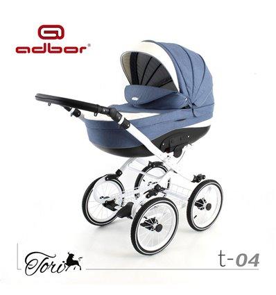 Дитяча коляска 2 в 1 Adbor Tori Classic 04