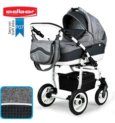 Дитяча коляска 3 в 1 Adbor Marsel PerFor Sport P07