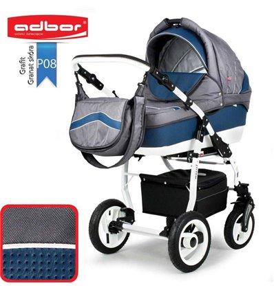 Дитяча коляска 3 в 1 Adbor Marsel PerFor Sport P08