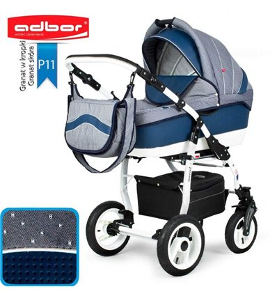 Дитяча коляска 3 в 1 Adbor Marsel PerFor Sport P11