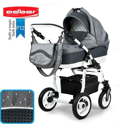 Дитяча коляска 3 в 1 Adbor Marsel PerFor Sport P12