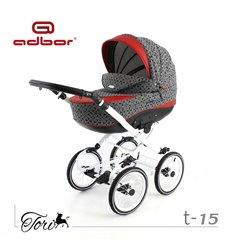 Дитяча коляска 2 в 1 Adbor Tori Classic 15
