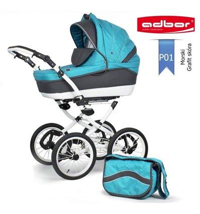 Дитяча коляска 2 в 1 Adbor Marsel PerFor Classic P01
