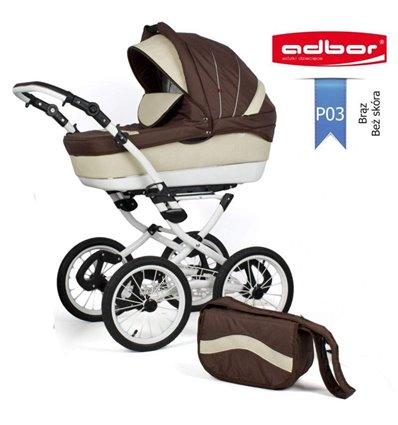 Дитяча коляска 2 в 1 Adbor Marsel PerFor Classic P03