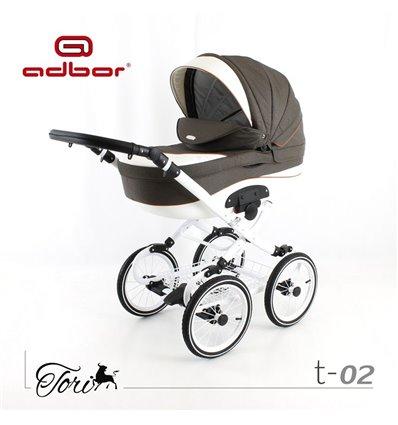 Дитяча коляска 3 в 1 Adbor Tori Classic 02