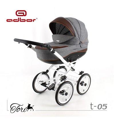 Дитяча коляска 3 в 1 Adbor Tori Classic 05