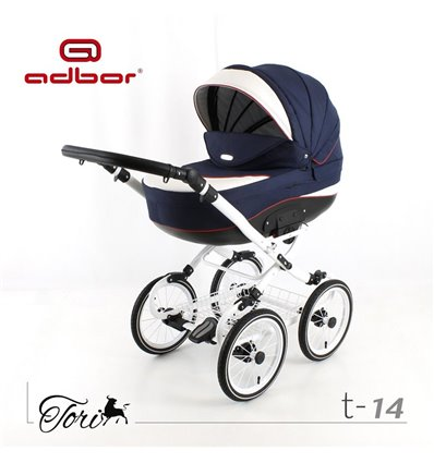 Дитяча коляска 3 в 1 Adbor Tori Classic 14