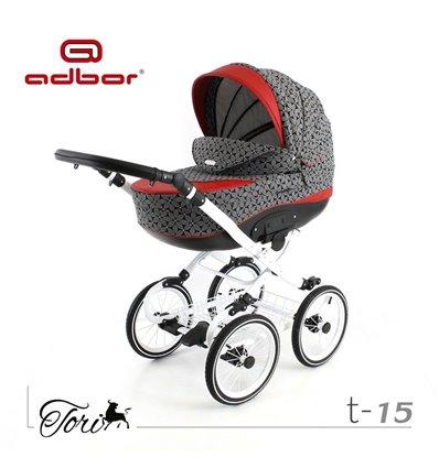 Дитяча коляска 3 в 1 Adbor Tori Classic 15