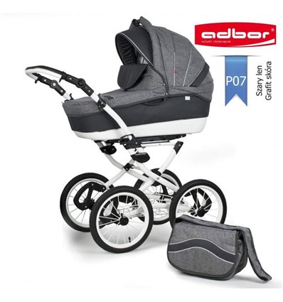 Дитяча коляска 3 в 1 Adbor Marsel PerFor Classic P07