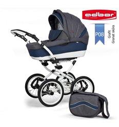 Дитяча коляска 3 в 1 Adbor Marsel PerFor Classic P08