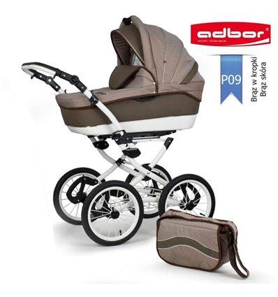 Дитяча коляска 3 в 1 Adbor Marsel PerFor Classic P09