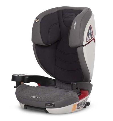 Автокрісло дитяче EasyGo Camo Isofix Carbon, 15-36 кг