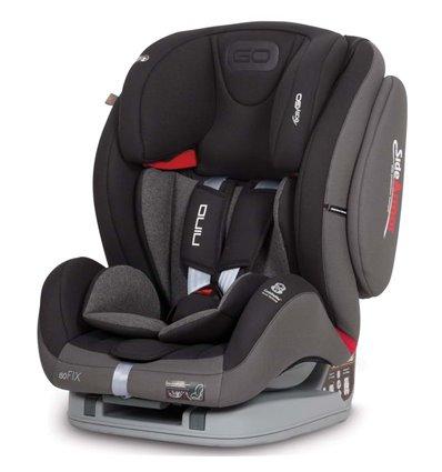 Автокрісло дитяче EasyGo Nino Isofix Carbon, 9-36 кг