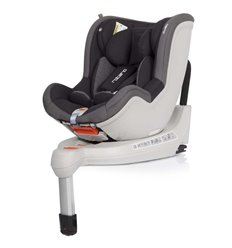 Автокрісло дитяче EasyGo Rotario Isofix Carbon, 0-18 кг