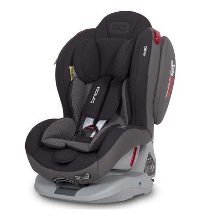 Автокрісло дитяче EasyGo Tinto Isofix Carbon, 0-25 кг