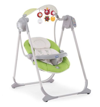 Крісло-гойдалка Chicco Polly Swing Up Green 79110.51