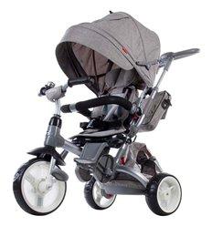 Велосипед триколісний Sun Baby Little Tiger Меланж Сірий