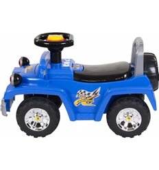 Машинка каталка Sun Baby Jeep синій