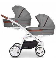 Універсальна коляска для двійні EasyGo 2ofUS Anthracite