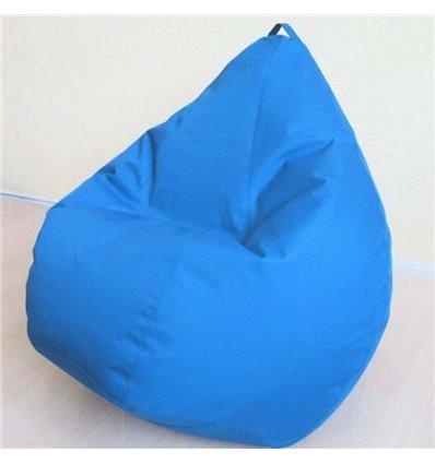 Крісло груша Оксфорд Блакитний 120-90 см Tia-sport