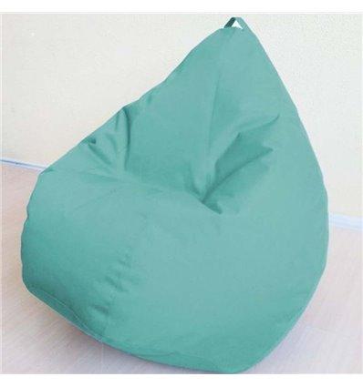 Крісло груша Оксфорд Бірюза 120-90 см Tia-sport