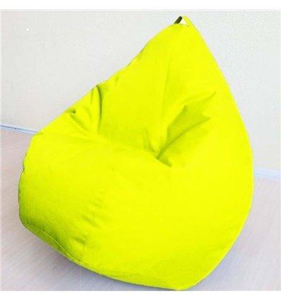 Крісло груша Оксфорд Жовтий 140-90 см Tia-sport