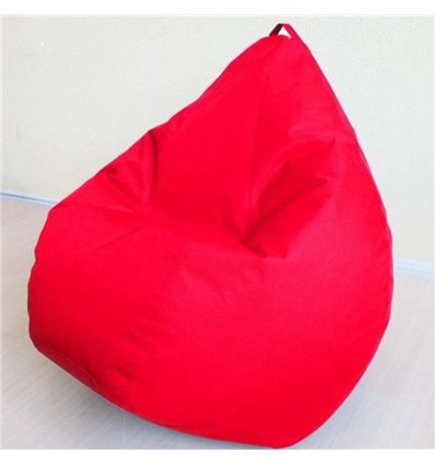 Крісло груша Оксфорд Червоний 120-90 см Tia-sport