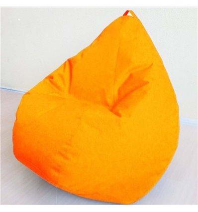 Крісло груша Оксфорд Оранжевий 90-60 см Tia-sport