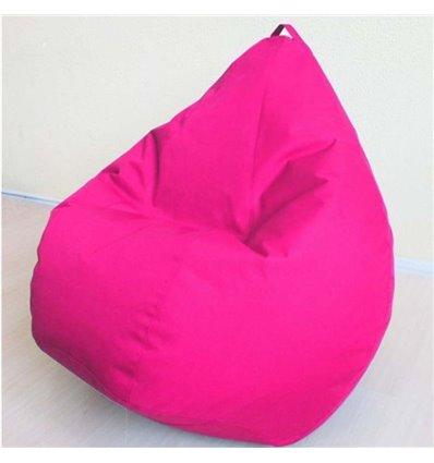 Крісло груша Оксфорд Рожевий 120-90 см Tia-sport