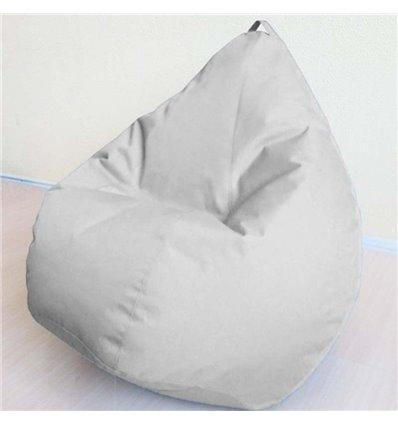 Крісло груша Оксфорд Сірий 140-90 см Tia-sport