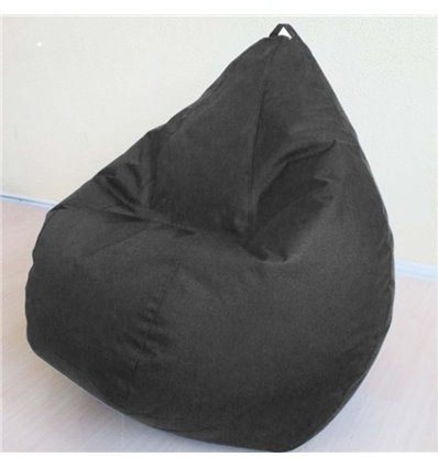 Крісло груша Оксфорд Чорний 90-60 см Tia-sport