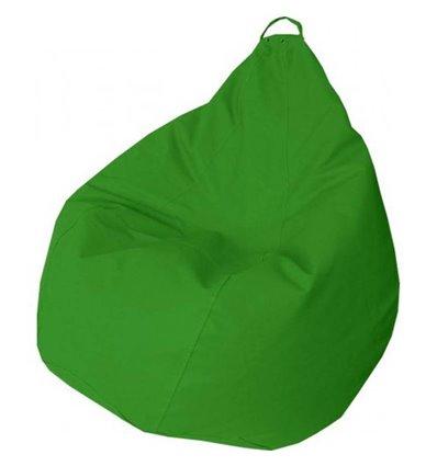 Крісло груша Практик Зелений 140-90 см Tia-sport