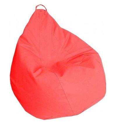 Крісло груша Практик Червоний 90-60 см Tia-sport
