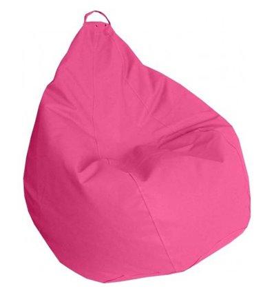 Крісло груша Практик Рожевий 120-90 см Tia-sport
