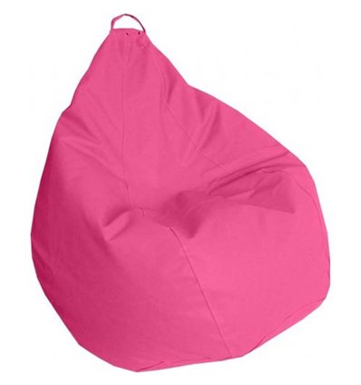 Крісло груша Практик Рожевий 140-90 см Tia-sport