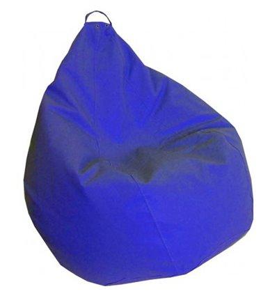 Крісло груша Практик Синій 120-90 см Tia-sport