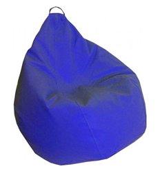 Крісло груша Практик Синій 140-90 см Tia-sport